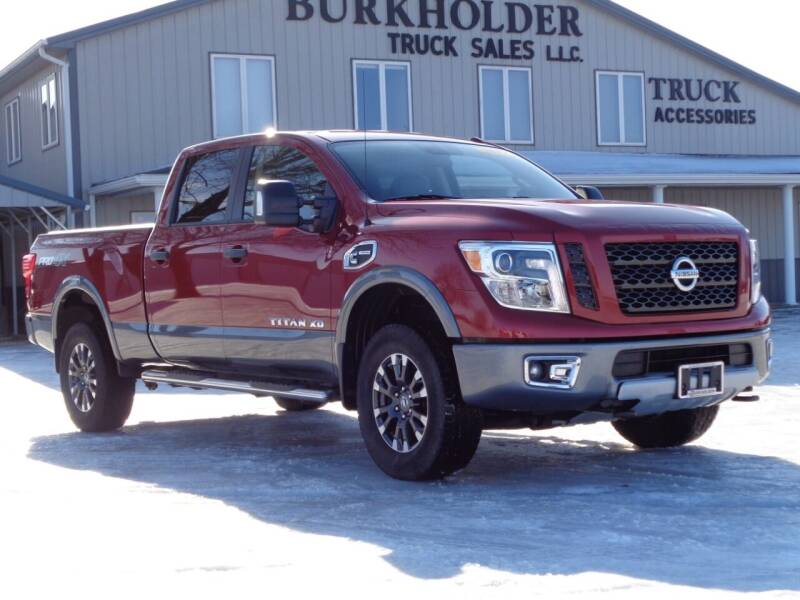 2017 Nissan Titan XD for sale at Burkholder Truck Sales LLC (Edina) in Edina MO