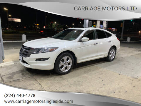 2010 Honda Accord Crosstour for sale at Carriage Motors LTD in Ingleside IL
