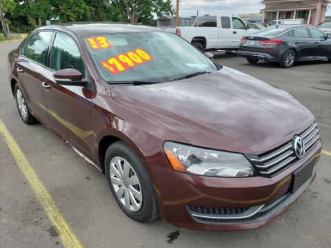 2013 Volkswagen Passat for sale at Low Price Auto and Truck Sales, LLC in Brooks OR