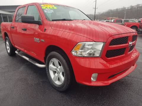 2016 RAM Ram Pickup 1500 for sale at Moores Auto Sales in Greeneville TN