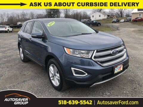 2018 Ford Edge for sale at Autosaver Ford in Comstock NY