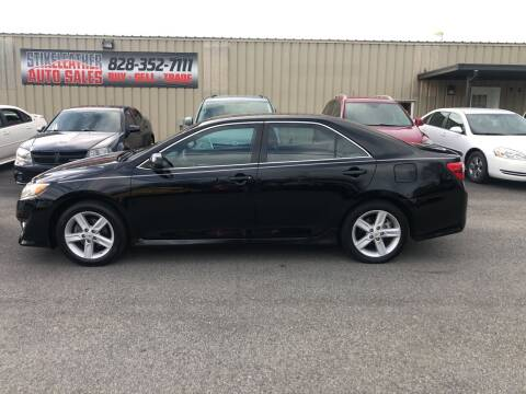 2012 Toyota Camry for sale at Stikeleather Auto Sales in Taylorsville NC