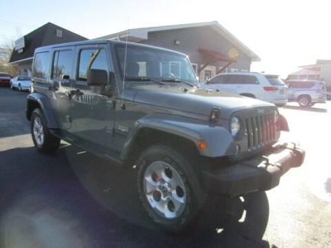 2014 Jeep Wrangler Unlimited for sale at Specialty Car Company in North Wilkesboro NC