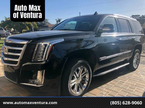 2018 Cadillac Escalade for sale at Auto Max of Ventura in Ventura CA
