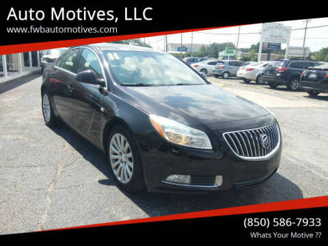 2011 Buick Regal for sale at Auto Motives, LLC in Fort Walton Beach FL