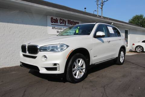 2015 BMW X5 for sale at Oak City Motors in Garner NC