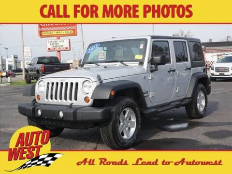2012 Jeep Wrangler Unlimited for sale at Autowest of Plainwell in Plainwell MI