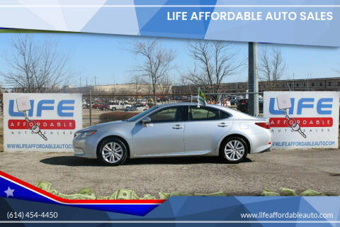 2014 Lexus ES 350 for sale at LIFE AFFORDABLE AUTO SALES in Columbus OH