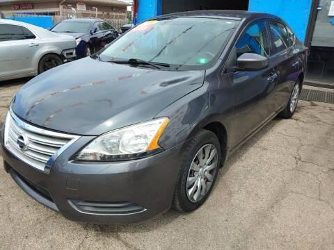 2014 Nissan Sentra for sale at JIREH AUTO SALES in Chicago IL