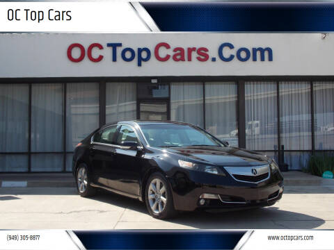 2012 Acura TL for sale at OC Top Cars in Irvine CA