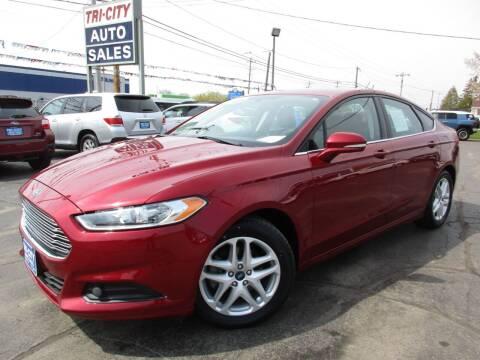 2014 Ford Fusion for sale at TRI CITY AUTO SALES LLC in Menasha WI