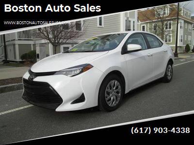 2019 Toyota Corolla for sale at Boston Auto Sales in Brighton MA