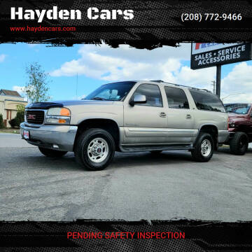 2001 GMC Yukon XL for sale at Hayden Cars in Coeur D Alene ID