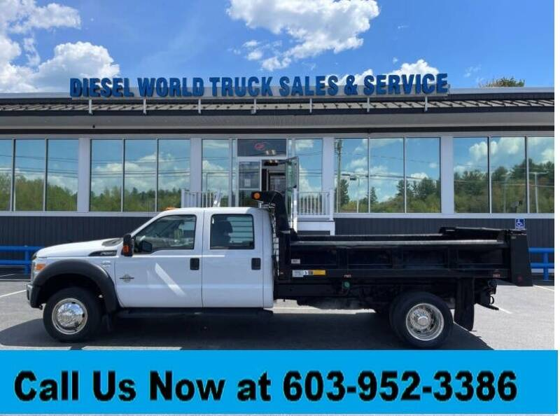 2011 Ford F-550 Super Duty for sale at Diesel World Truck Sales - Dump Truck in Plaistow NH