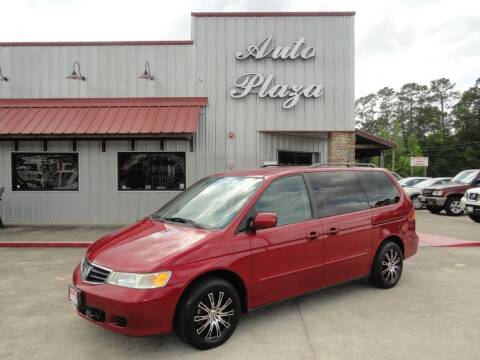2003 Honda Odyssey for sale at Grantz Auto Plaza LLC in Lumberton TX