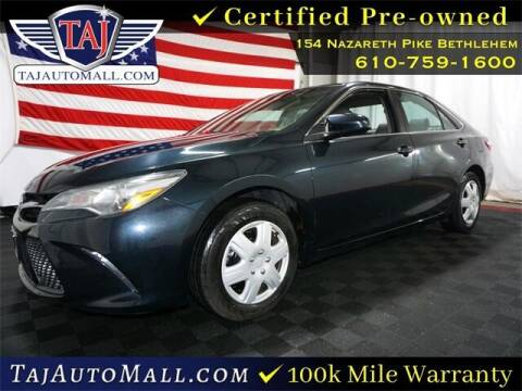 2018 Toyota Camry for sale at Taj Auto Mall in Bethlehem PA