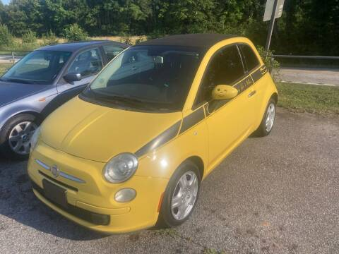 2013 FIAT 500c for sale at UpCountry Motors in Taylors SC