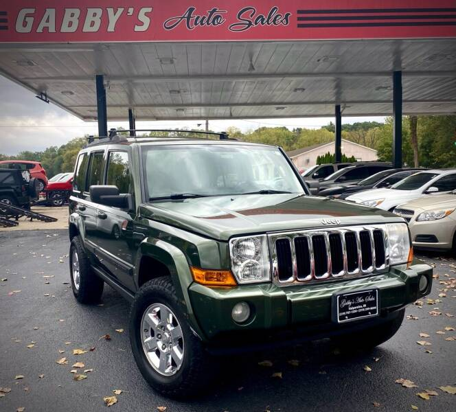 2007 Jeep Commander for sale at GABBY'S AUTO SALES in Valparaiso IN
