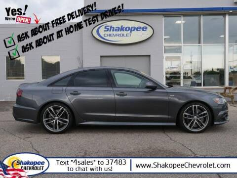 2017 Audi S6 for sale at SHAKOPEE CHEVROLET in Shakopee MN