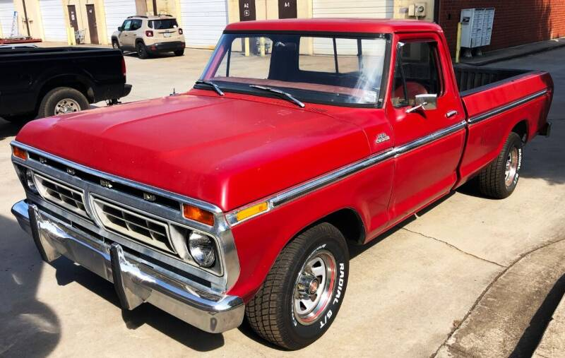 1977 Ford F-150 for sale at Muscle Car Jr. in Alpharetta GA