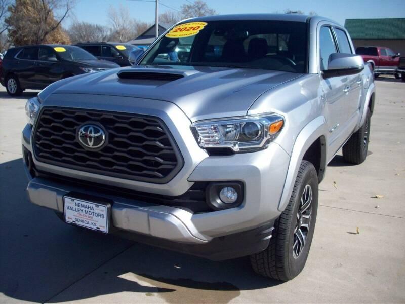 2020 Toyota Tacoma for sale at Nemaha Valley Motors in Seneca KS