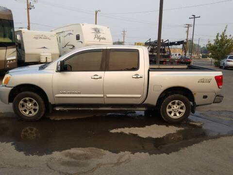 2007 Nissan Titan for sale at Freds Auto Sales LLC in Carson City NV