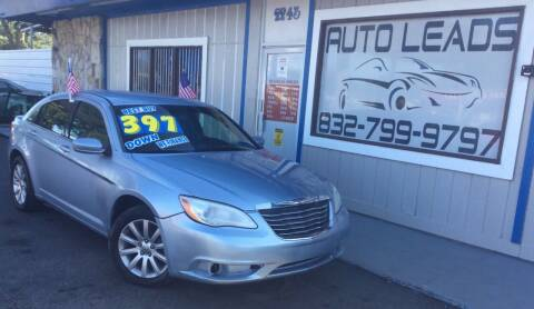 2013 Chrysler 200 for sale at AUTO LEADS in Pasadena TX