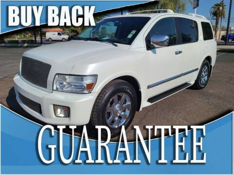 2007 Infiniti QX56 for sale at Reliable Auto Sales in Las Vegas NV