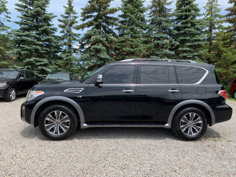 2017 Nissan Armada for sale at Renaissance Auto Network in Warrensville Heights OH