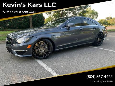 2014 Mercedes-Benz CLS for sale at Kevin's Kars LLC in Richmond VA