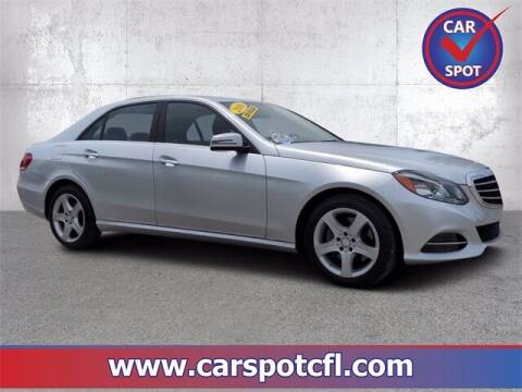 2016 Mercedes-Benz E-Class for sale at Car Spot Of Central Florida in Melbourne FL