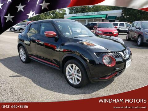 2015 Nissan JUKE for sale at Windham Motors in Florence SC