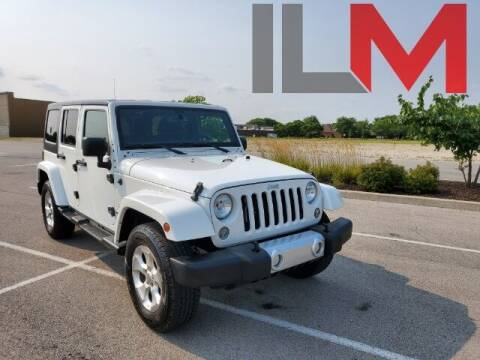 2015 Jeep Wrangler Unlimited for sale at INDY LUXURY MOTORSPORTS in Fishers IN