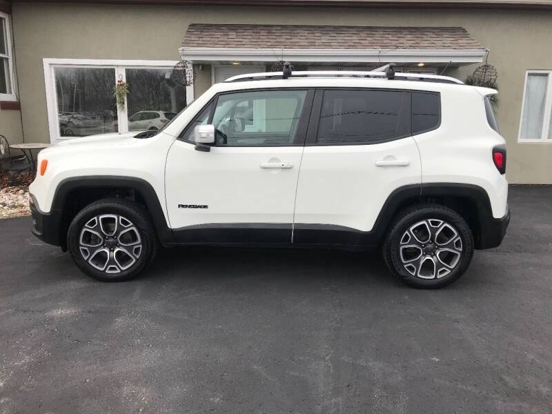 2015 Jeep Renegade for sale at DOOR PENINSULA SALES & STORAGE LTD in Sturgeon Bay WI