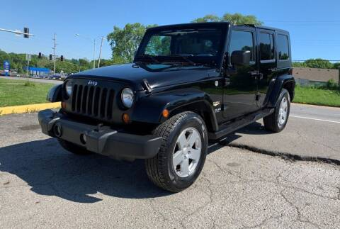 2007 Jeep Wrangler Unlimited for sale at InstaCar LLC in Independence MO