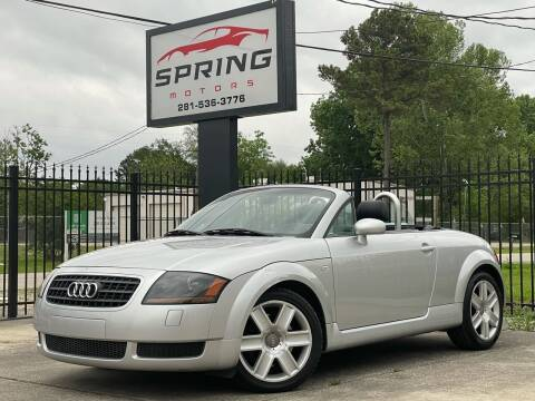 2003 Audi TT for sale at Spring Motors in Spring TX