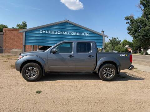 2018 Nissan Frontier for sale at Chubbuck Motor Co in Ordway CO