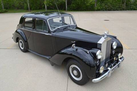 1954 Rolls-Royce Touring Saloon for sale at NJ Enterprises in Indianapolis IN