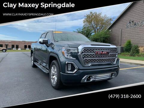 2020 GMC Sierra 1500 for sale at Clay Maxey Springdale in Springdale AR