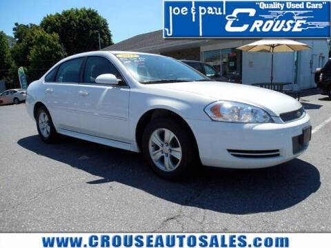 2013 Chevrolet Impala for sale at Joe and Paul Crouse Inc. in Columbia PA