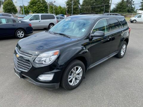 2017 Chevrolet Equinox for sale at Vista Auto Sales in Lakewood WA