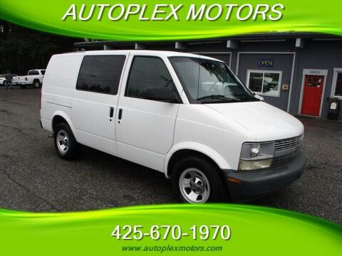 2001 Chevrolet Astro Cargo for sale at Autoplex Motors in Lynnwood WA