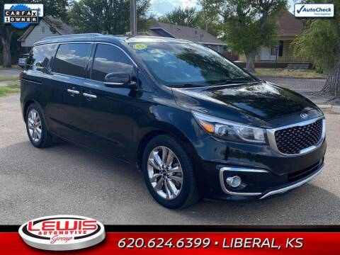 2015 Kia Sedona for sale at Lewis Chevrolet Buick of Liberal in Liberal KS