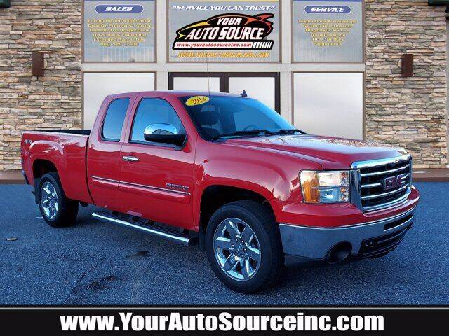 2012 GMC Sierra 1500 for sale at Your Auto Source in York PA