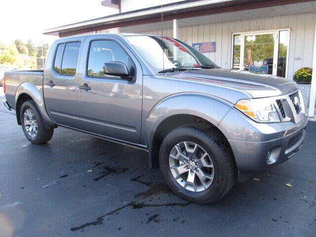 2021 Nissan Frontier for sale at Thompson Motors LLC in Attica NY