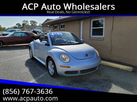 2007 Volkswagen New Beetle Convertible for sale at ACP Auto Wholesalers in Berlin NJ