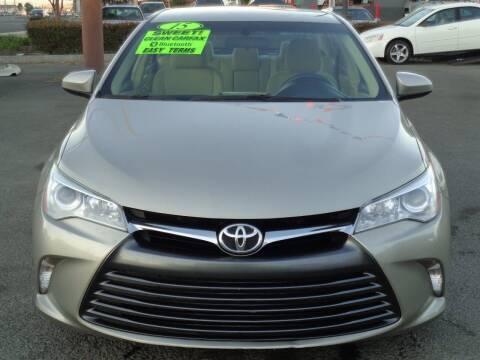 2015 Toyota Camry for sale at Vallejo Motors in Vallejo CA