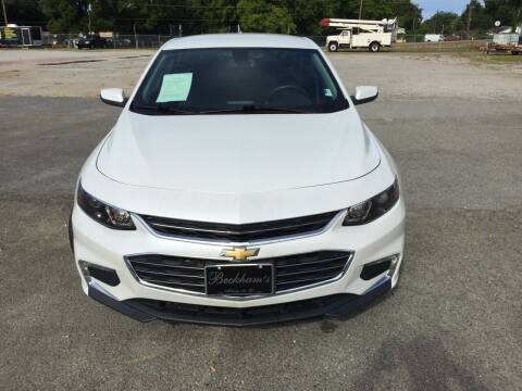 2017 Chevrolet Malibu for sale at Beckham's Used Cars in Milledgeville GA