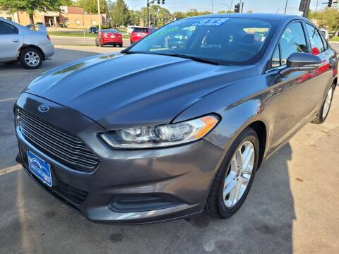 2013 Ford Fusion for sale at Liberty Car Company in Waterloo IA