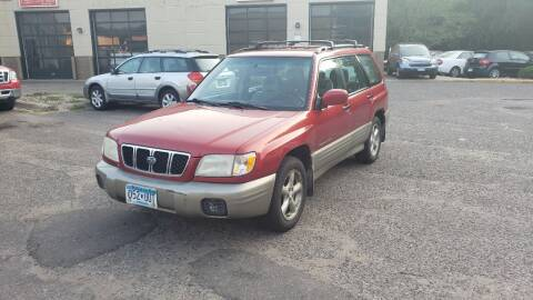 2001 Subaru Forester for sale at Fleet Automotive LLC in Maplewood MN